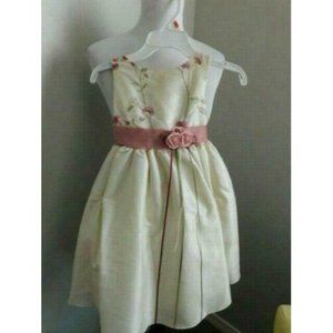 Kids Dream Size S Small 0-6M Ivory Rose dress